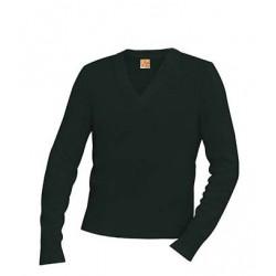 Unisex Classic V-Neck Long Sleeve Pullover